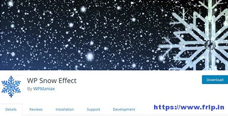 WP-Snow-Effect-Plugin