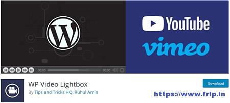 WP-Video-Lightbox-Plugin