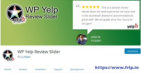 WP-Yelp-Review-Slider-Plugin