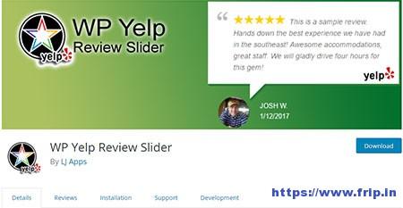 WP-Yelp-Review-Slider-Plugin