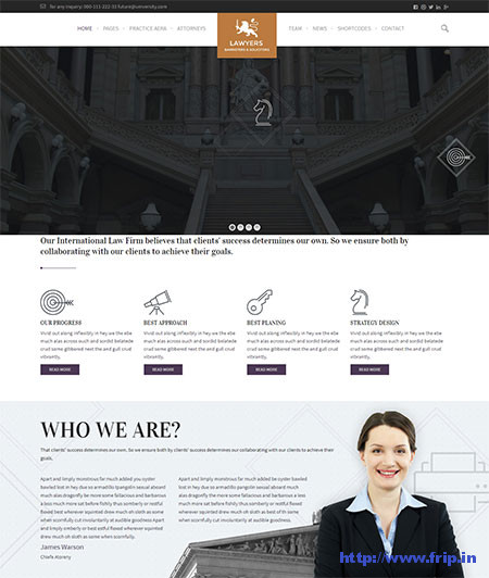 WPLawyers--Attorneys-WordPress-Theme