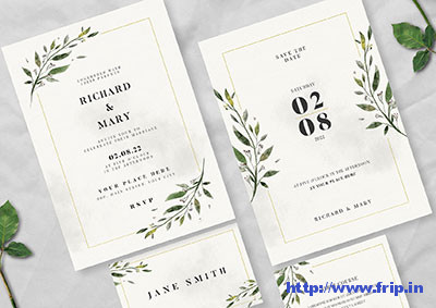 Watercolor-Wedding-Invitation-Suites