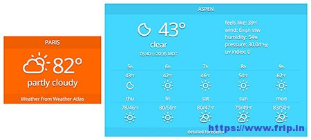 Weather-Atlas-Widget-Plugin
