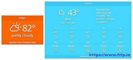 Weather-Atlas-Widget-Plugin