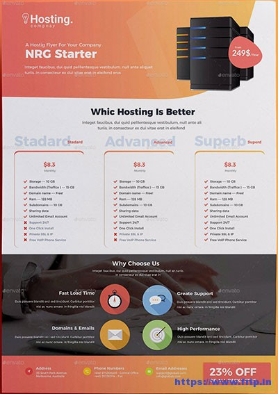 Web-Hosting-Flyers-Bundle