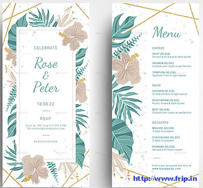 Wedding-DL-Card-Template