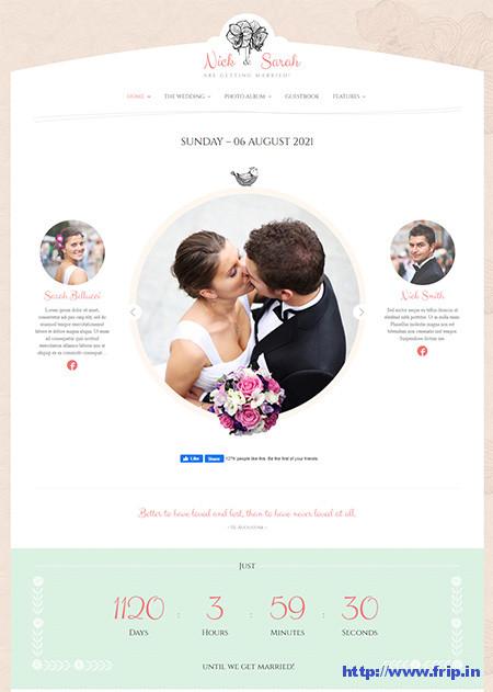 Wedding-Day-WordPress-Theme