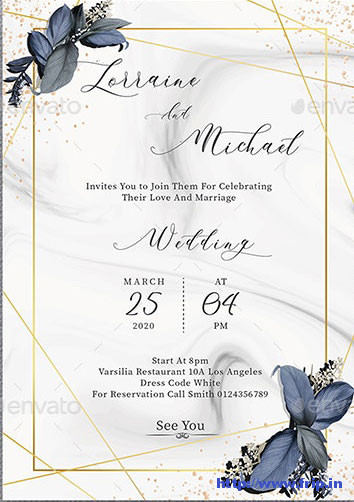 Wedding-Invitation- template