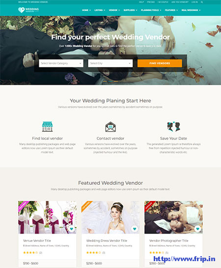 Wedding-Vendor-Vendor-Directory-HTML-Template