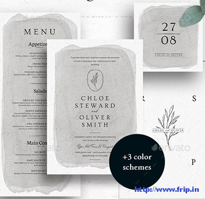 Weddings-Invitation-template