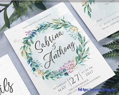 Wedding-Invitation-template