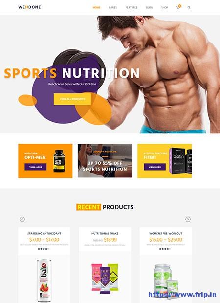 Welldone-Sports-&-Fitness-Nutrition-WordPress-Theme