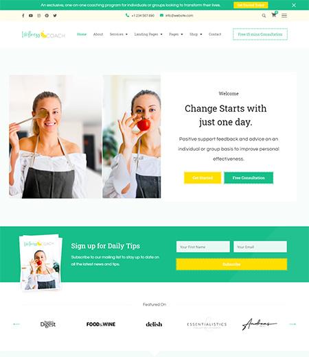 Wellness-Coach-WordPress-Theme