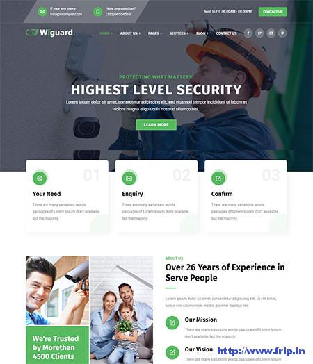 Wiguard-CCTV-&-Security-Theme