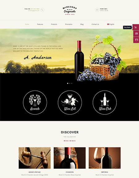 Wineshop-WordPress-Theme