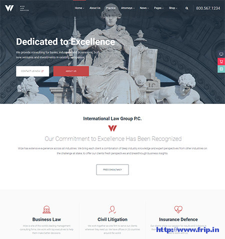 WizeLaw-Lawyer-WordPress-Theme