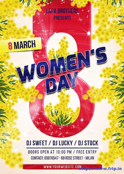 Womens-Day-Flyer-Template