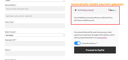 WooCommerce Contactless Delivery Plugins
