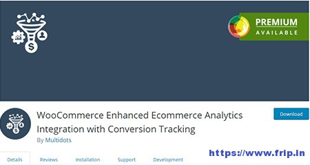 woocommerce google analytics plugin