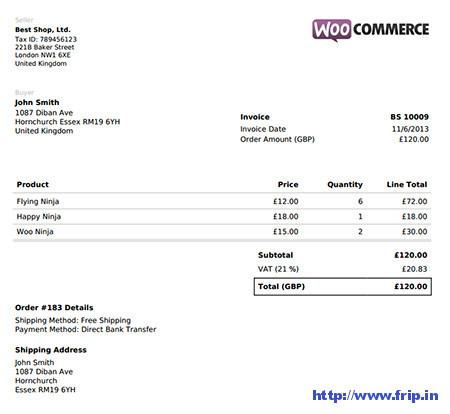 WooCommerce-PDF-Invoice-Plugin