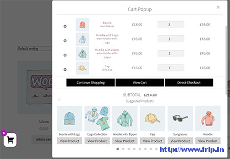 WooCommerce-Popup-Cart