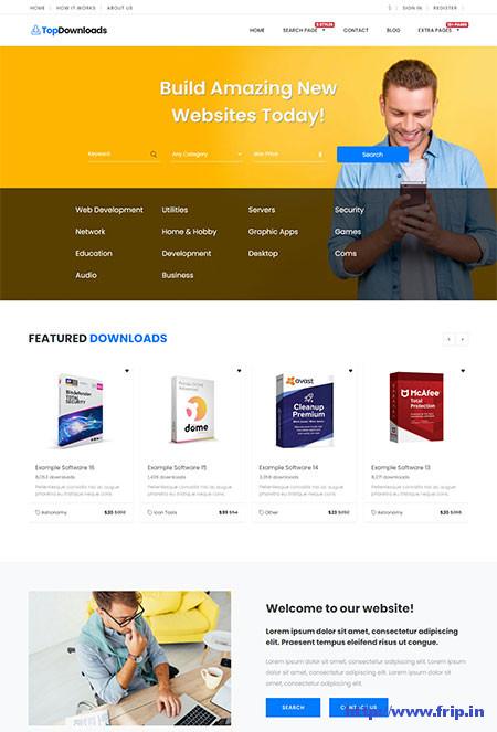 WordPress-Digital-Download-Theme
