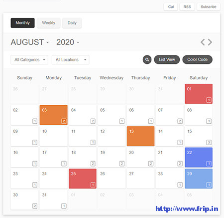 WordPress-Pro-Event-Calendar-Plugin