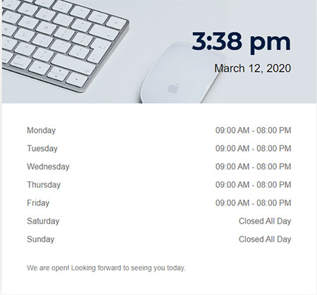 business hours wordpress plugin