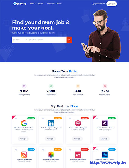 Workoo-Job-Board-Template