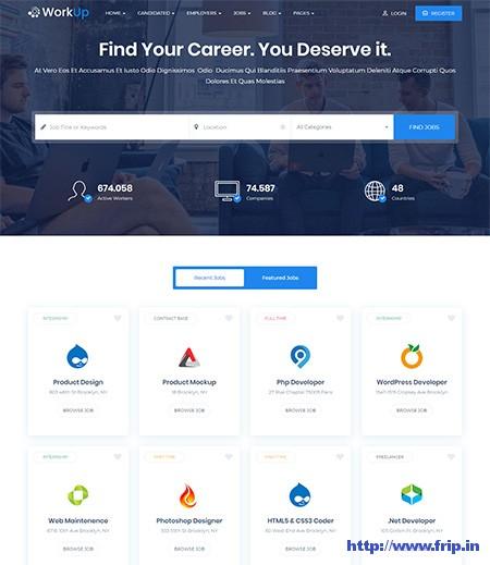 Workup-Job-Board-WordPress-Theme
