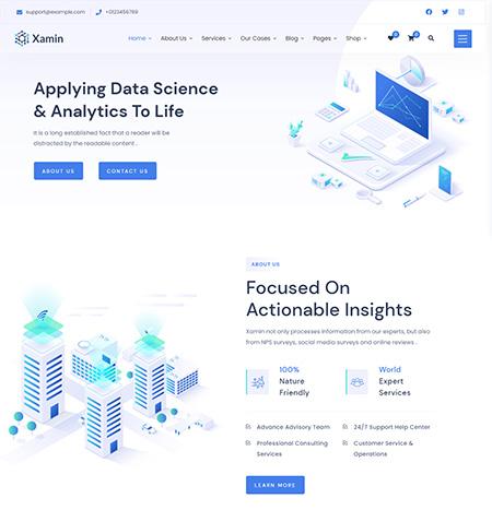 Xamin-Data-Science-&-Analytics-WordPress-Theme
