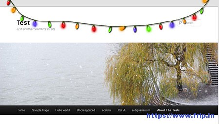 Xmas-Lights-WordPress-Plugin
