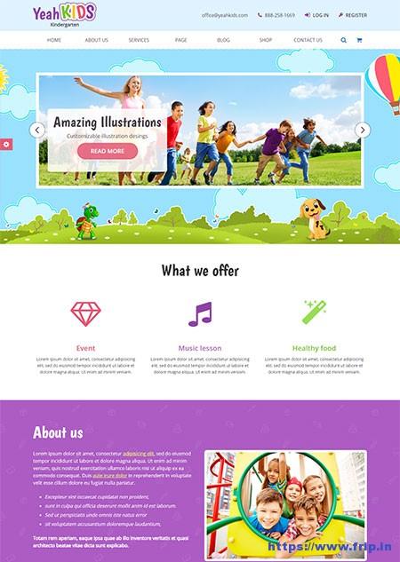 Yeah-Kids-Kindergarten-HTML-Template