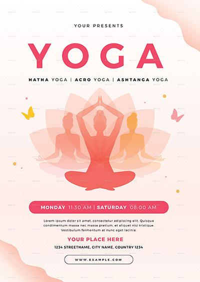 Yoga-Flyer