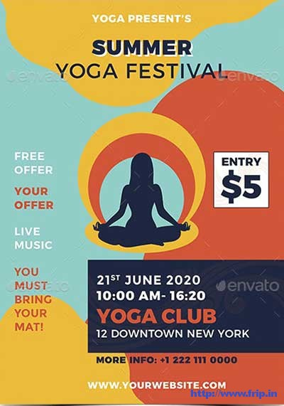 Yoga-Flyer-Template