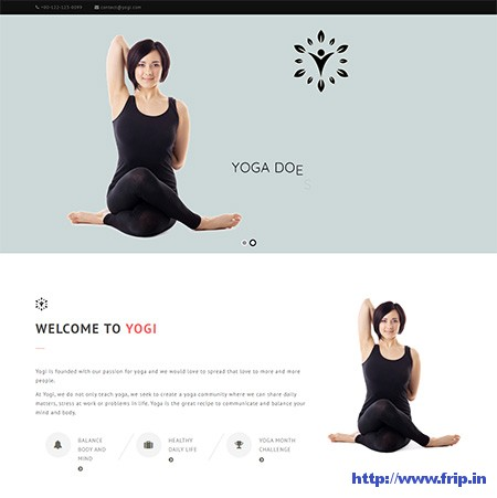 Yogi-Yoga-WordPress-Theme