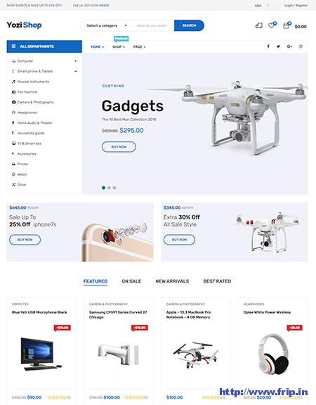 Yozi-Multipurpose-Electronics-Themes