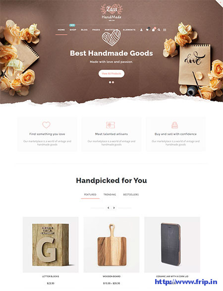 Zass-WordPress-Theme-For-Handmade-Artists