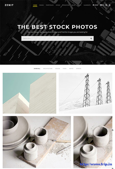 Zenit-Stock-Photos-WordPress-Theme