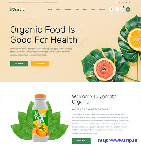 Zomata-Organic-Food-WordPress-Theme