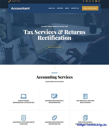 accountant-wordpress-theme