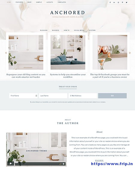 anchored-feminine-wordpress-theme