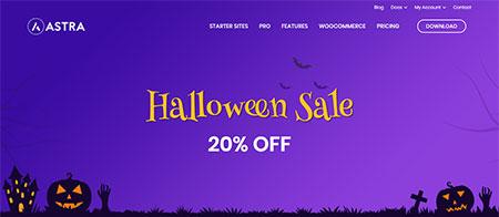 astra-theme-halloween-deal