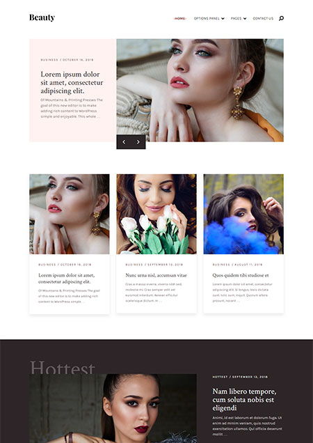 beauty-wordpress-theme