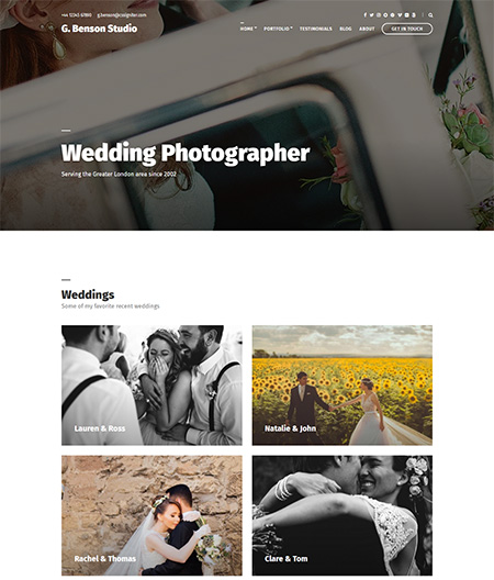 benson-photographer-wordpress-theme