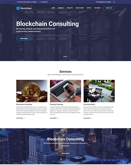 blockchain-cryptocurrency-wordpress-theme