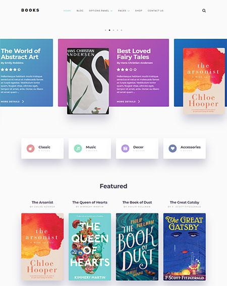 books-wordpress-themes