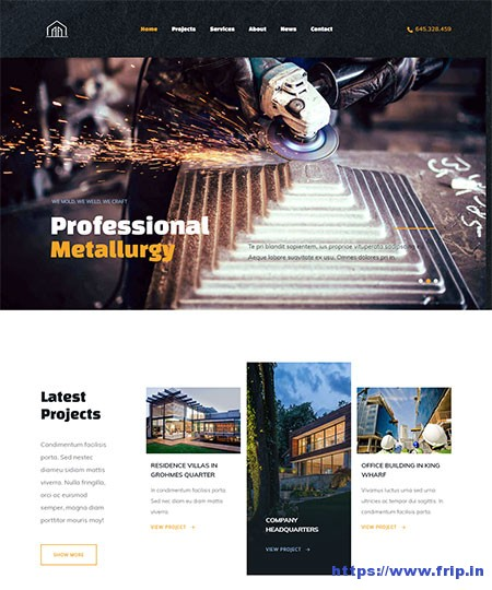 build-out-construction-wordpress-theme
