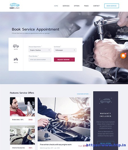 car-clinic--car-repair-wordpress-theme
