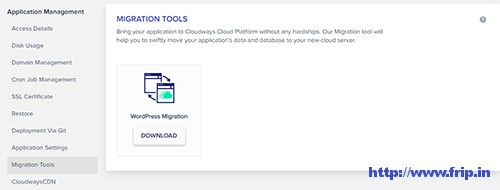 cloudways-migration-tool